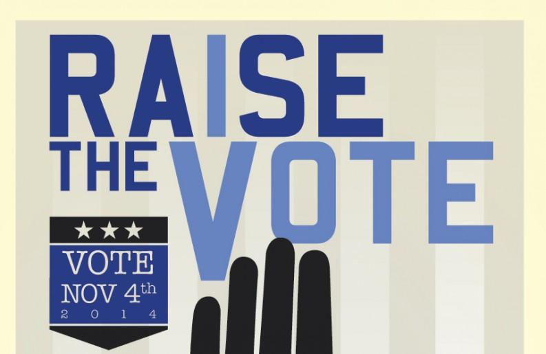 Raise your had to the sky… #RaiseTheVote