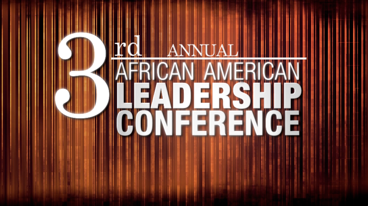 This month is the 3rd African American Leadership Conference