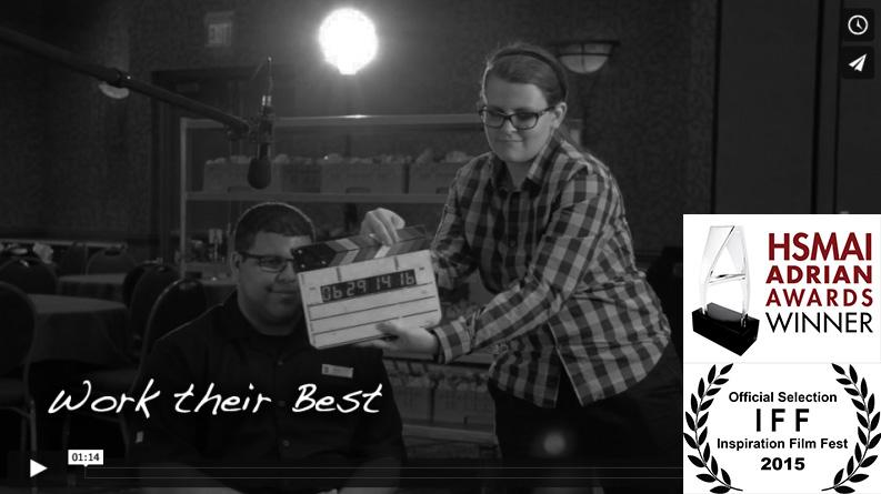 'Work Their Best' wins Adrian Award in New York.