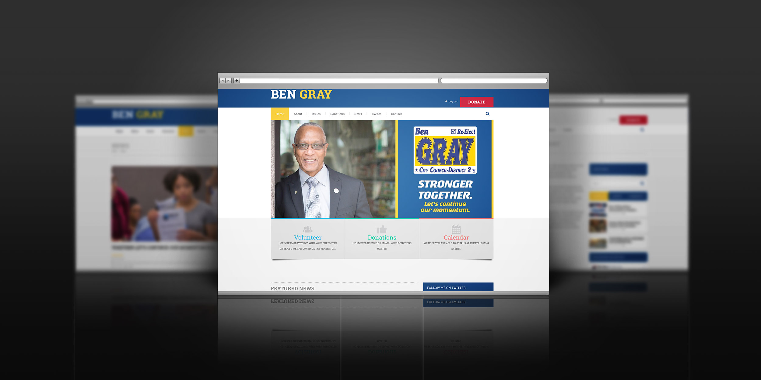 The New Re-elect Ben Gray Website is Live!