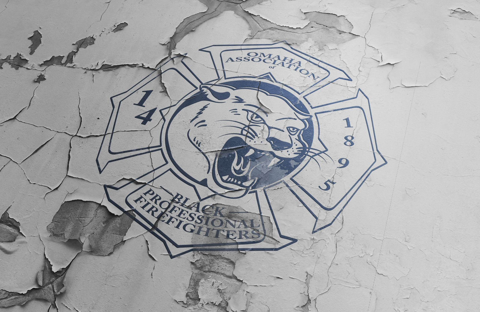 A New Omaha Black Firefighters Logo Roars into Life.